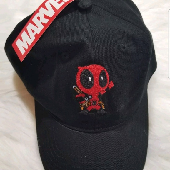 Kawaii Chibi Deadpool Snapback Hat  8497778893d2